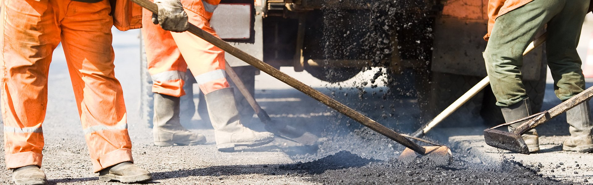 Road paving professional