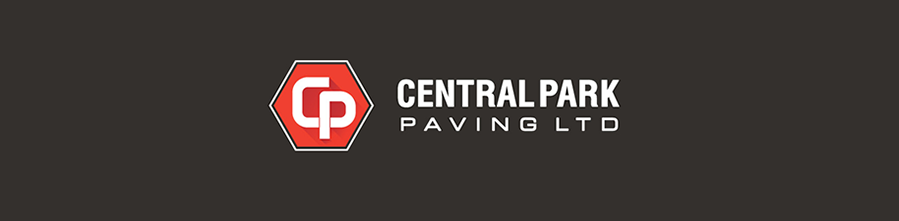 Paving company tablet header