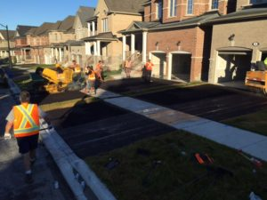 laneway paving in Canada