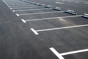 Parking lot paving & marking company