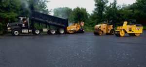 Roadwork paving company