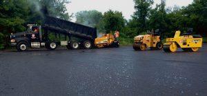Roadwork paving company